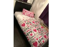 Bed and desk £40