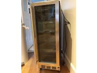 Drinks fridge/wine cooler by 'Candy'.