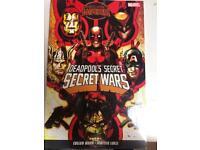 Deadpool secret wars comics