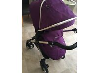 a nice silver cross baby travel system for sale