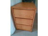 Pine Wood Drawers
