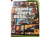 X Box 360 GTA V5 (2 disc game)