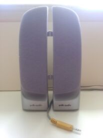 ClearSurround Silver Speakers