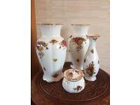 Royal Albert vases