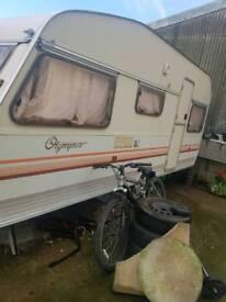 olympus 4 berth caravan spares