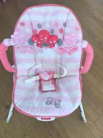 Fisher Price Baby Bounce Chair - Pink