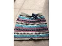 Primark Atmosphere size 8 chunky knit skirt