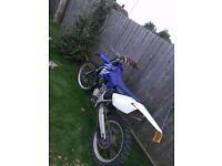 Yamaha yz 250 road registered 2200 ono