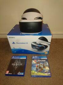 Playstation 4 vr headset bundle