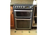 Hotpoint Ultima Gas hob electric oven cooker