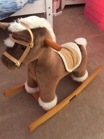 Mamas and Papas Topaz Rocking Horse with Sounds