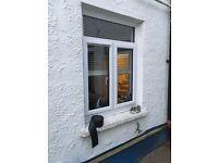 Fairly new UPVC White Double Glazed Window