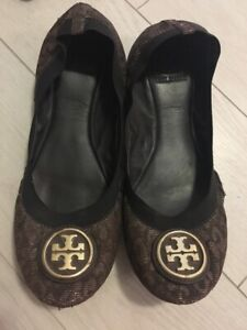 Authentic Tory Burch ballet flats size 10.