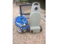 Truma water line waste master water barrel and waste water barrel