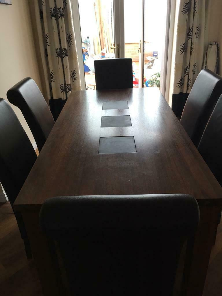 Surprising Dining Room Table With 6 Chairs In Coulby Newham North Yorkshire Gumtree Spiritservingveterans Wood Chair Design Ideas Spiritservingveteransorg