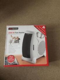 Fan heater! Perfect for winter!