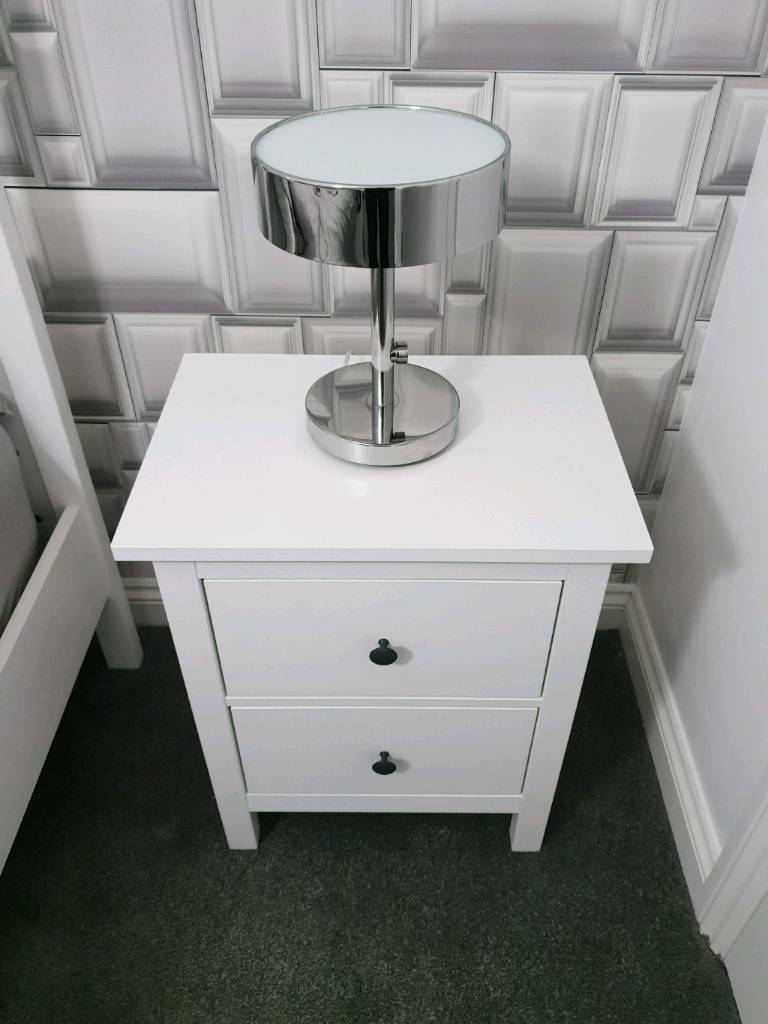 Ikea Hemnes Bedside Tables In Motherwell North