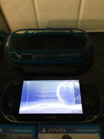Sony PS Vita WiFI and games