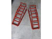 2te trolley jack + wheel ramps
