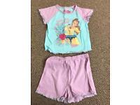 Disney Belle Pyjamas size 3-4