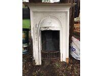BEAUTIFUL CAST IRON Fireplace