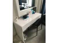 Vanity Desk and Chair - New
