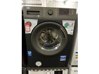 Brand New BEKO WTB1041R2A 10 kg 1400 Spin Washing Machine - Anthracite