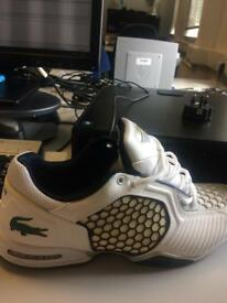 Lacoste trainers size 10