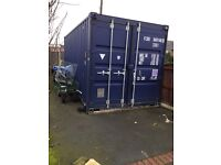 Shipping countaner 20ft new one trips blue