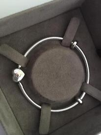 Clogau Carriad charm bracelet - 14cm