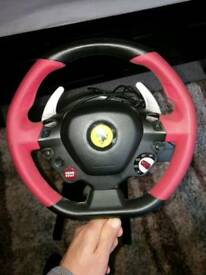 Xbox one steering wheel and adjustable stand