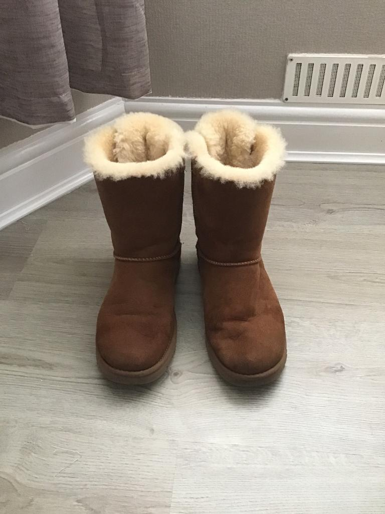 Genuine Ugg Boots Bailey Bow