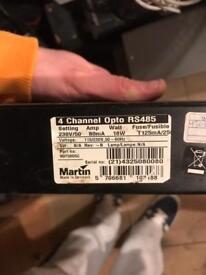 Martin Professional RS485 DMX controller