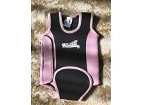 Baby girls wetsuit 6-12 months £5 Ono