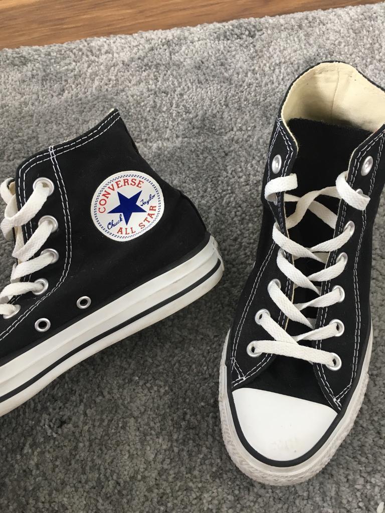 77a5e140f93a Converse high tops UK 5