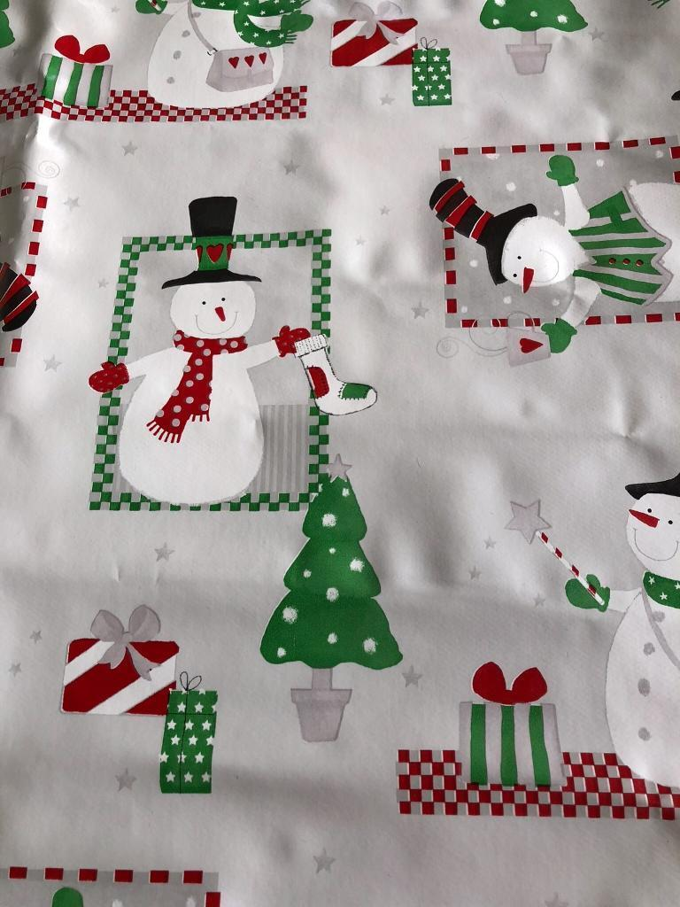 Christmas Vinyl Table Cover In Weymouth Dorset Gumtree