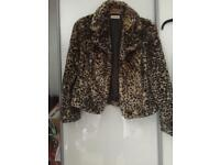Fur coat size 14