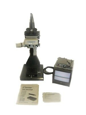 Nikon Trinocular Microscope With Sony Xc-999 High Res Camera And Color Monitor