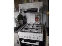 White Flavel Gas Cooker