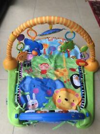 Fisher Price Kick and Play Piano Gym - in very good condition