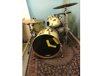 Tama Starclassic Drum Set with cymbals and DW snare