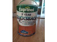 Cuprinol Ducksback Fence Protector - 5l tin