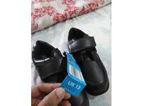 Sale- Black School Shoes size- J13