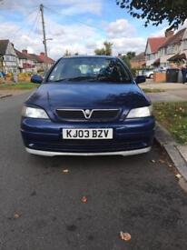 Vauxhall Astra g 2003
