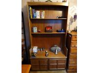 Book Shelves with storage unit solid wood,