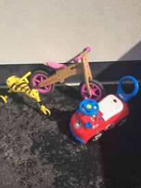 Toddler bike assortment