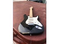 Cutom Roadworn Stratocaster Electric Guitar. Right Handed.