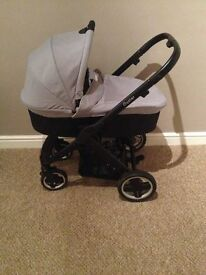 Oyster 2 Carry Cot and Buggy 3 in 1
