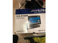 ****ALPINE IVA-D106R HEAD UNIT DVD*****