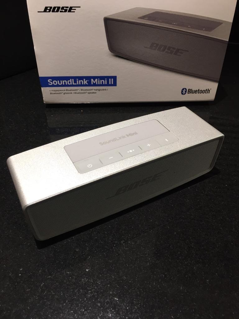 bose mini 2. bose soundlink mini 2 ii - nearly brand new